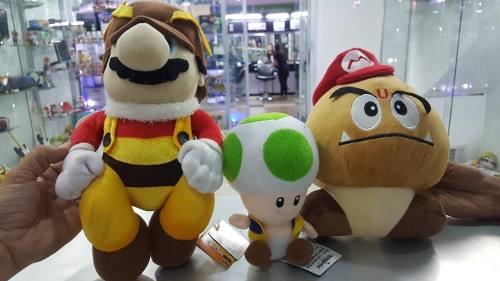 Peluches De Coleccion De Mario Bros