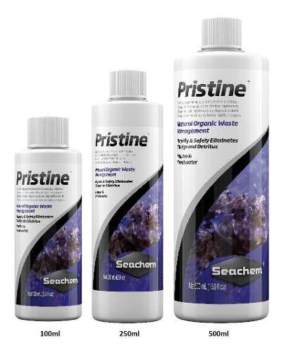 Seachem Pristine,250 Ml, Filtracion Anaerobica