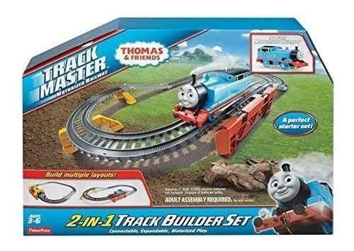 Thomas El Tren 2 En 1 Track Builder Set Pista Fisher Price