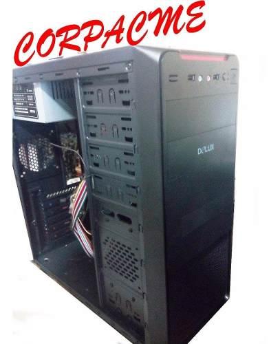 Case Delux Atx Mt377 Con Fuente De Poder 550w Dlp-21ms