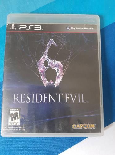 Juego Original Play 3. Resident Evil 6.