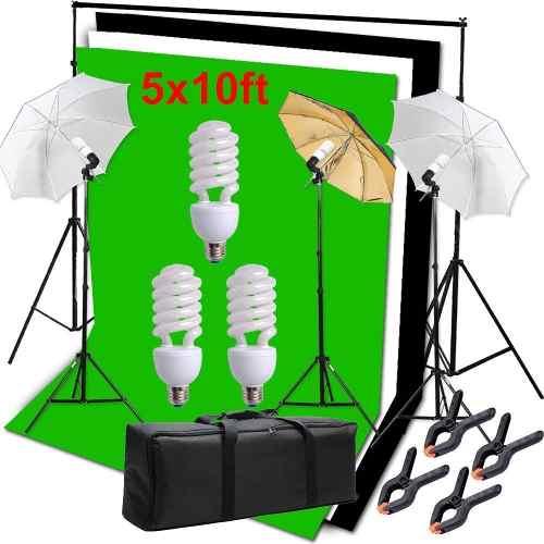 Kit De Soporte De Fondo Para Video Studio, Fotografía Kit