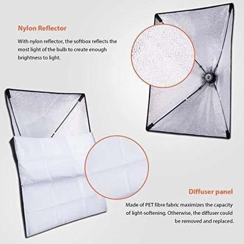Para Fotografia Hpusn Softbox Kit Iluminacion