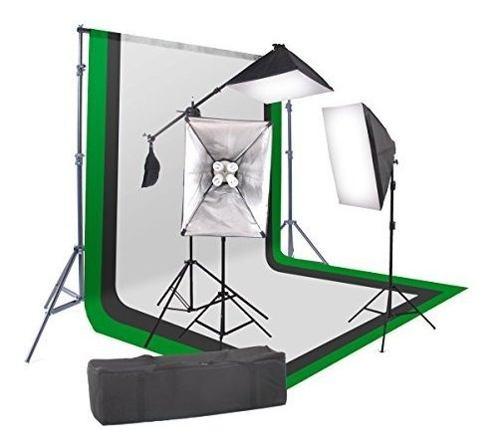 Para Fotografia Studiofx  Softbox Kit Iluminacion