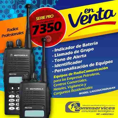 Radio Motorola Serie Pro  Ltr Trunking 800 Mhz