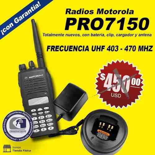 Radio Uhf Motorola Serie Pro  !!!!nuevos!!!!