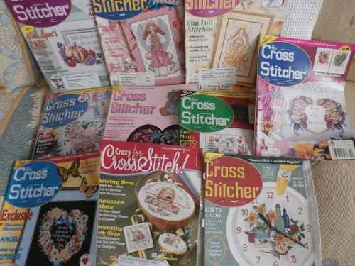 Revistas Para Bordar Punto De Cruz.(the Cross Sticther)