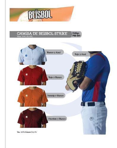 Camisa De Softball / Beisbol Importada Marca Prosport