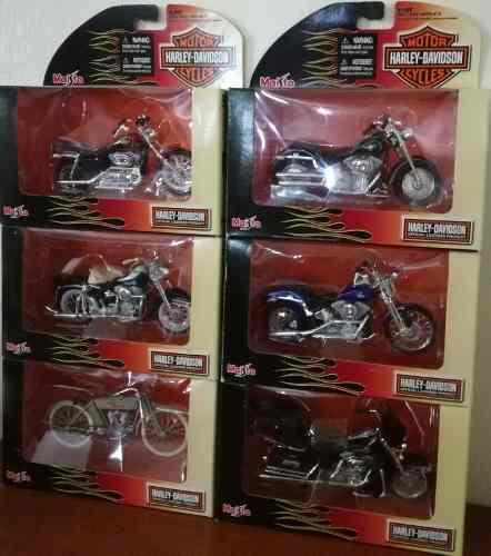 Colección Completa Moto Harley Davidson Serie 22 Escala