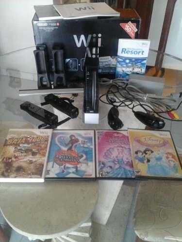 Consola Nintendo Wii + Tablet Balance + Alfombra Dance