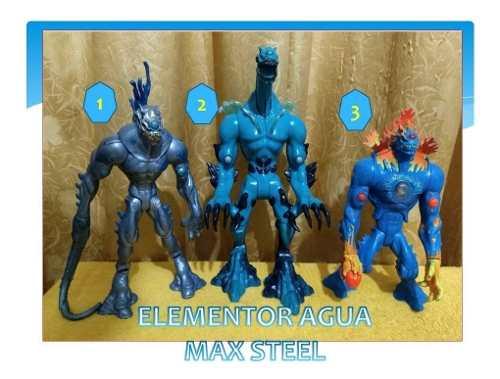 Figuras De Coleccion Max Steel - Elementor Agua