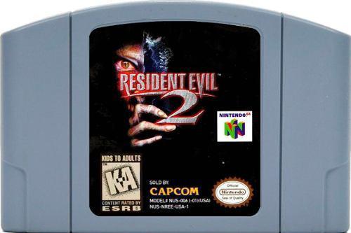 Juego Original Resident Evil 2 Para Consola Nintendo 64