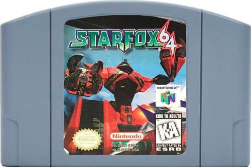 Juego Original Star Fox 64 Para Consola Nintendo 64