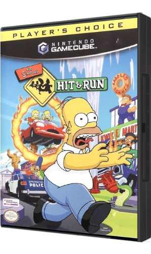 Juego Original The Simpsons Hit & Run Para Nintendo Gamecube