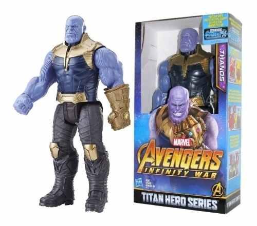 Muñeco Thanos Avengers Infinity War Hasbro Original
