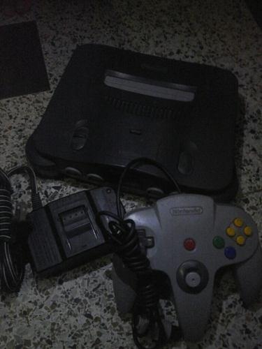 Nintendo 64 Con Control Y 2 Juegos