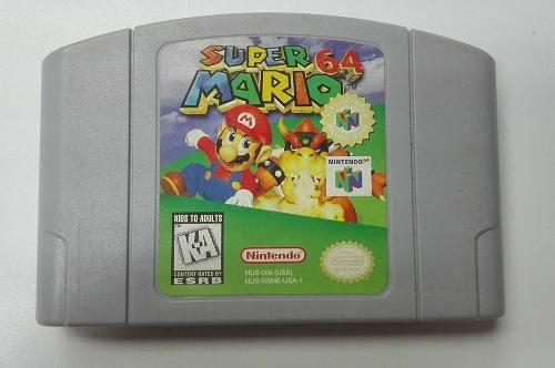 Super 64 Mario Nintendo 64 Excelente Estado