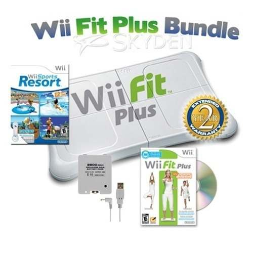 Tabla + Juego Original Wii Fit Plus Para Nintendo Wii