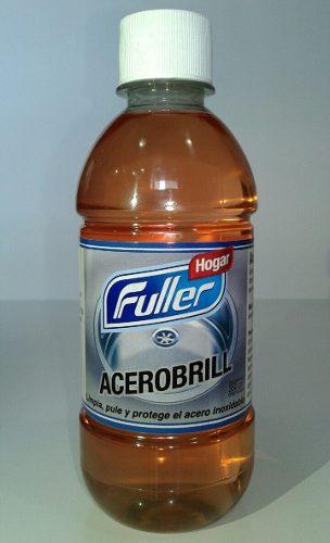 Acerobrill Fuller Liquido 350ml Limpiador Acero Inoxidable