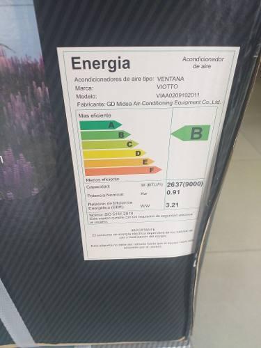 Aire Acondicionado De 9000btu Ventana