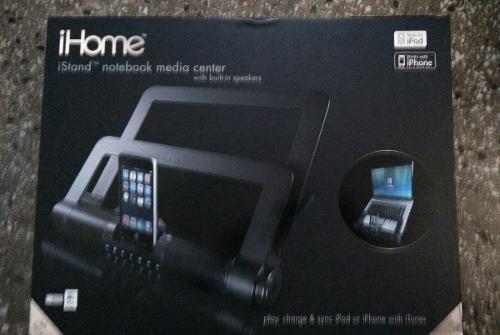 Base Para Laptop Con Cornetas Integradas Para iPod iPhone