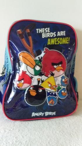 Bolsos Escolares Capi Angry Birds Original En Oferta