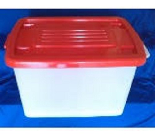 Caja De Plastica Grande Para Conservacion O Almacenar.