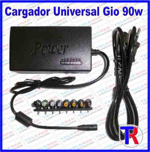 Cargador Universal De Laptop 90w Gio 12v A 24v