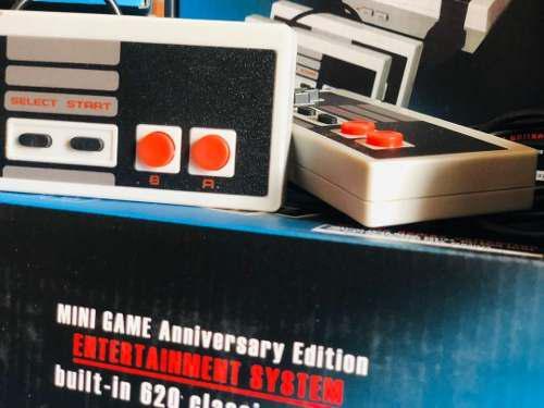Consola De Juegos Retro Con 620 Juegos Clásicos