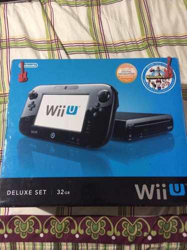 Consola Nintendo Wii U 32gb + 8 Juego Original 200 Trump