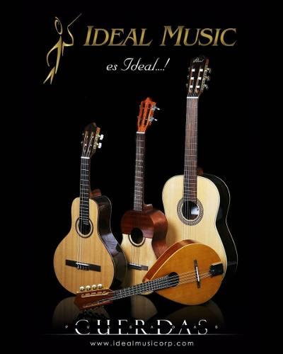 Cuatro Ideal Music 12 Y 17 Trastes Nuevos