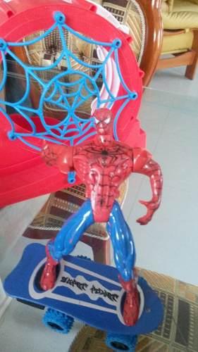 Hombre Araña En Patineta Juguetes Sin Detalles Chacao