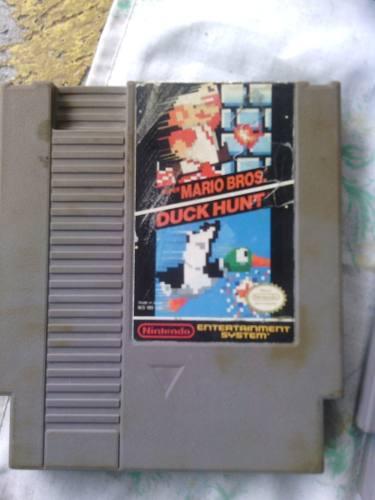 Juego Nintendo Nes Mario Bros Duck Hunt