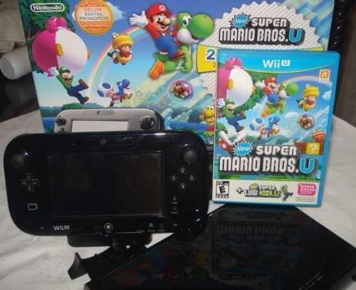 Nintendo Wii U 32gb Deluxe Color Negro