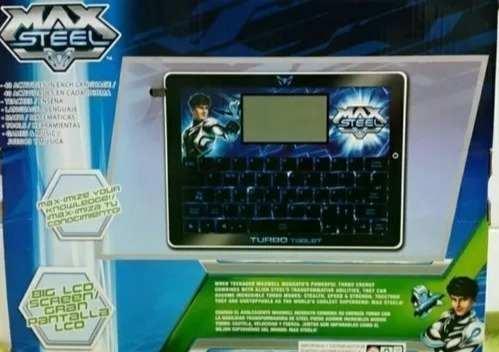 Tablet De Juguete Con Juegos Didacticos Max Steel Aclarator