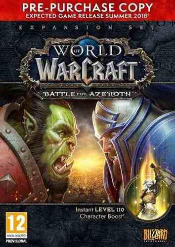 Wolrd Of Warcraft Battle For Azeroth Bfa Expansion