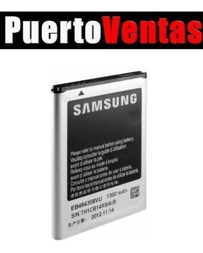 Batería Pila Samsung Fame Lite S6810 Original Eb464358vu