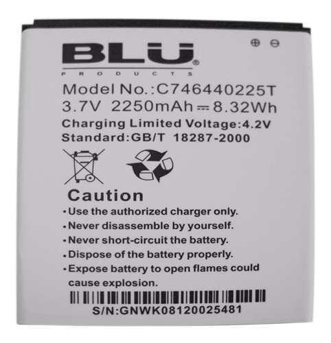 Bateria Pila Blu Studio 5.5 D600d610 0225t Nueva Tienda Bagc