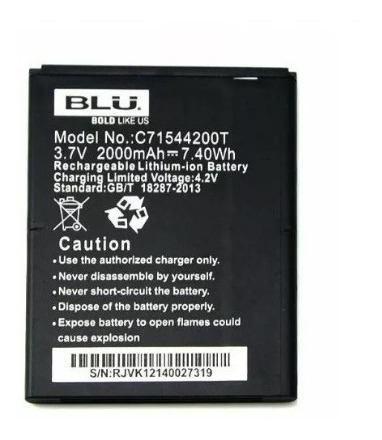 Bateria Pila Blu Studio G D790 Original C71544200t