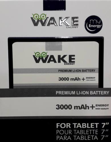 Bateria Pila Tablet China 7 3.7v 3000 Mah Wake Tienda Fisic