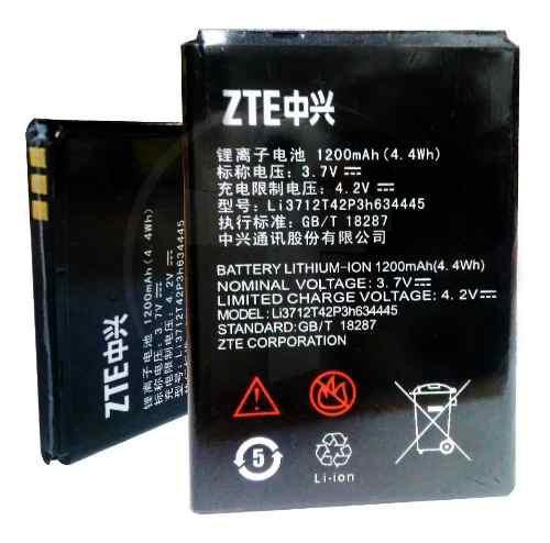 Bateria Pila Telefono Zte Kiss Ii Max V815 1200 Mah