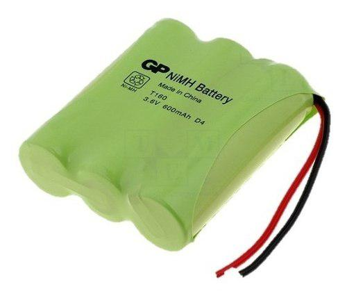Bateria Telefono Inalambrico T-160 Gp 3.6v 600mah 2 Cables