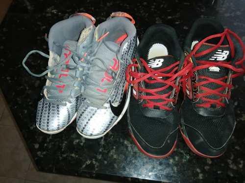 Tacos Nike Beisbol Mike Troud / New Balance Running Shoe #38