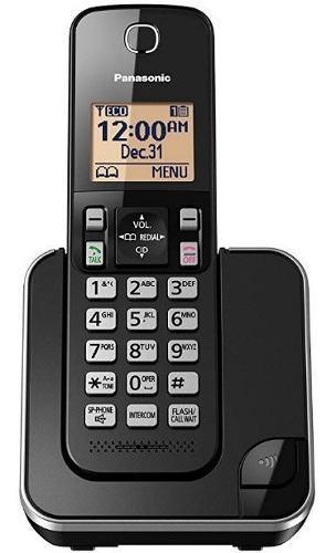 Telefono Fijo Panasonic Inalambrico Kx-tgc350 Color Negro.