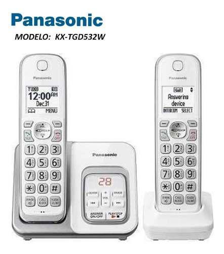 Telefono Inalambrico Panasonic Mod: Kx-tgd532 2 Auriculares