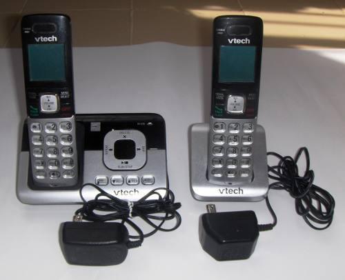 Teléfono Inalámbrico Con Auxiliar Vtech Cs6829-2