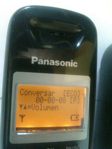 Teléfono Inalámbrico Panasonic Kx Tg4021 Con Contestadora