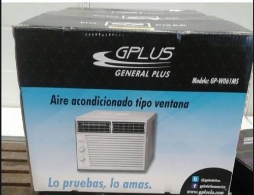 Aire Acondicionado De Ventana 6000 Btu Gplus