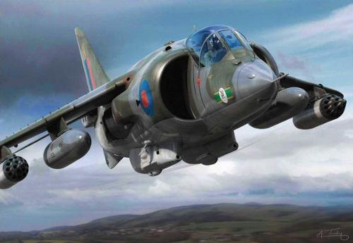 Avion A Escala 1/48 Hawker Harrier