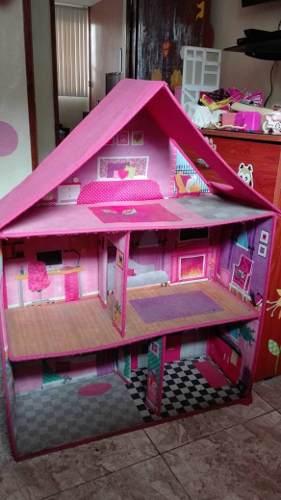 Casa De Muñecas Barbie...